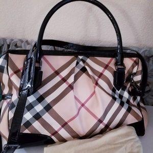 Burberry Madison Nova Diaper Bag